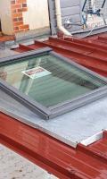 Changement de fenêtre de toit